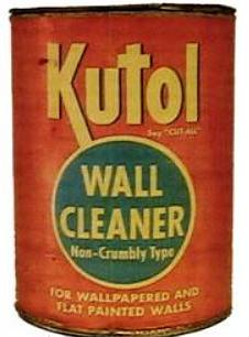 Kutol Products wallpaper cleaner sold decently for a number of years, and the company even managed to survive McVicker's death in 1949.