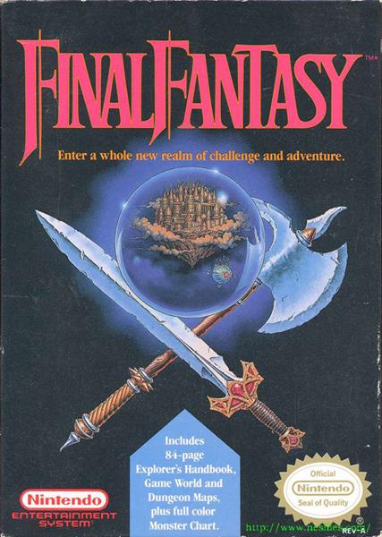 final_fantasy_1_nes_usa Final Fantasy I chega para os celulares comuns