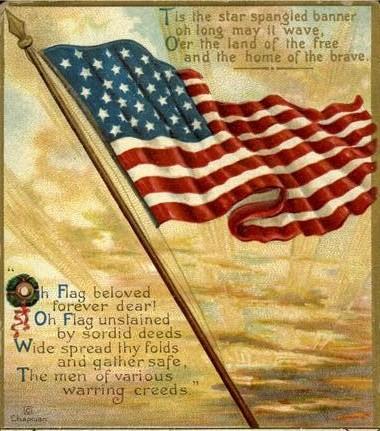 francis scott key national anthem