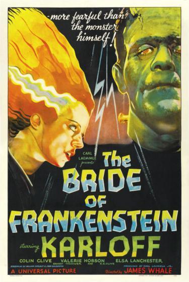 However bride of frankenstein contradicts