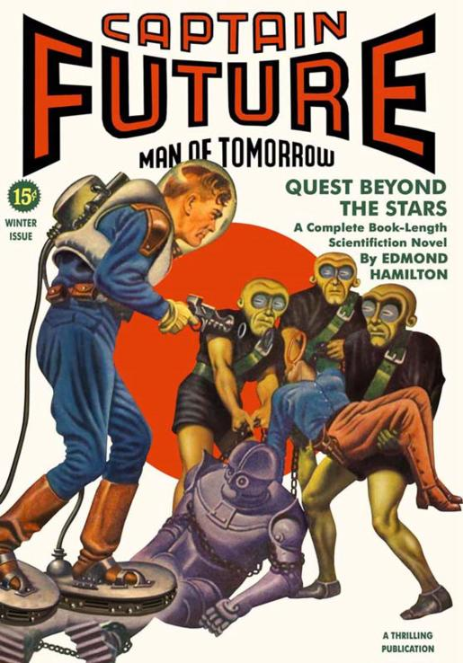 Image result for captain future edmond hamilton