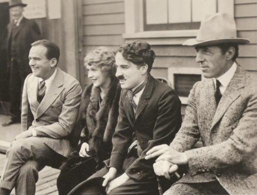 entertainment douglas fairbanks charlie chaplin have classic meet cute