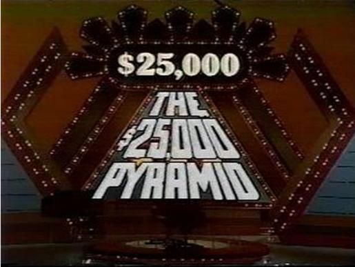 $10000 pyramid game categories list