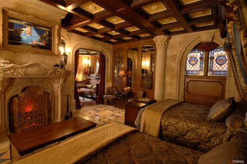 Apartment Inside Cinderella S Castle was cinderella's castle at disney world designed to have a secret