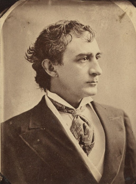 Edwin Booth in 1879.