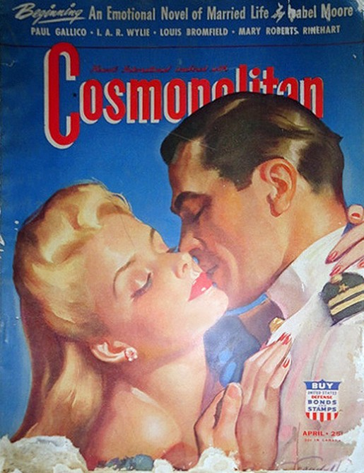 Gerald+Ford+Cosmopolitan+Cover+Color+April+1942