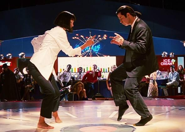 Image result for pulp fiction twisting