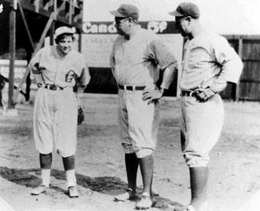 On April 1st, 1931, the New York Yankees were making a trip back from  Florida and decided to take a pit stop. This stop was on the theatrical  side, ...