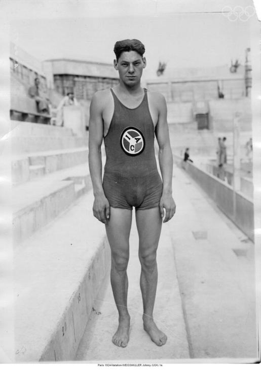 Image result for johnny weissmuller olympian