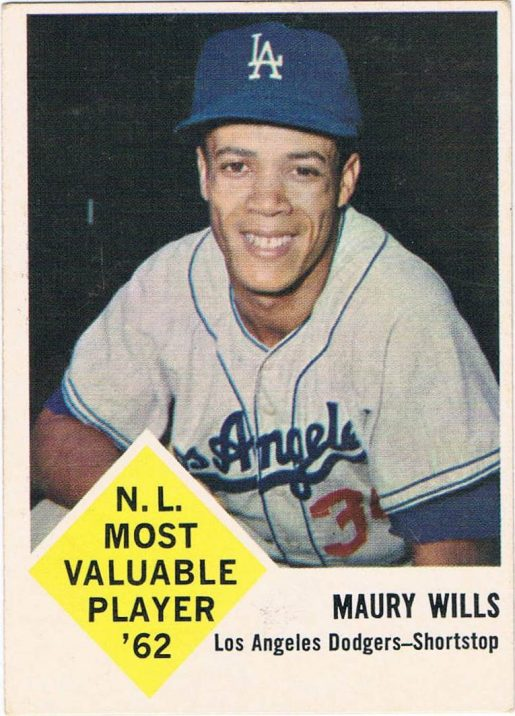 Was Maury Wills Such A Longshot That Topps Wouldnt Even Sign Him To